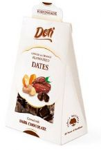 Doti Ginger And Orange Flavoured Dates With Dark Chocolate 100g